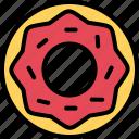 bakery, cakery, desserts, donut, snack icon