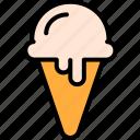 cream, desserts, food, ice, meal icon