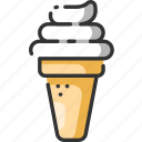 cream, dessert, fast, food, ice, icecream, meal icon