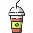 drink, fast, food, fresh, meal, restaurant, smoothie icon
