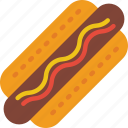 fast, food, hotdog, take away, takeaway icon