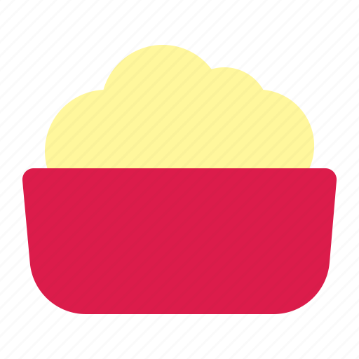food, junk, popcorn icon