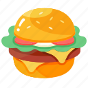 burger, cheese, cheeseburger, food, hamburger, meal, snack
