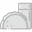 fast, food, tacco, take away, takeaway icon