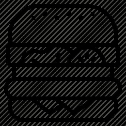 Burger, fastfood, hamburger icon - Download on Iconfinder