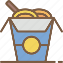chinese, fast, food, take away, takeaway icon