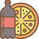 drink, fast, food, pizza, take away, takeaway icon
