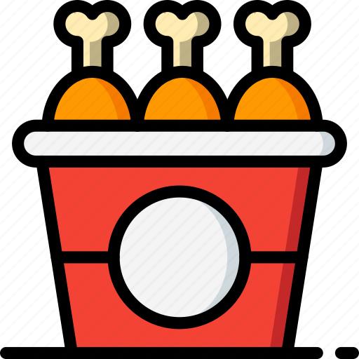 chicken, fast, food, fried, take away, takeaway icon