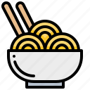 fastfood, food, instant, noodle icon