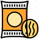 fastfood, food, potato, ship, snack icon