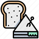 bread, fastfood, food, sandwich icon