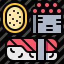 fastfood, food, japanese, sushi