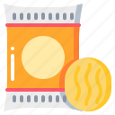 fastfood, food, potato, ship, snack icon