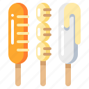 fastfood, food, hotdog, sausage icon