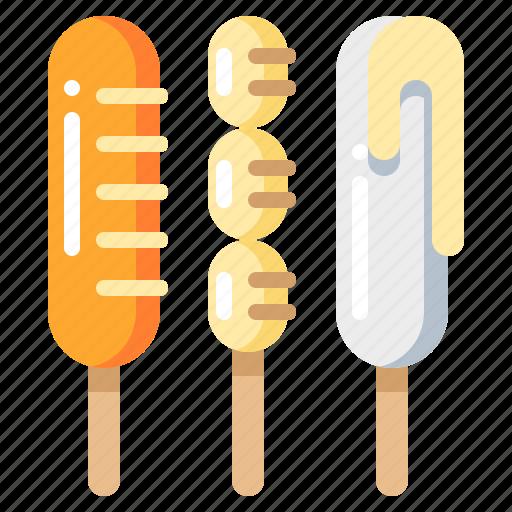 fastfood, food, hotdog, sausage icon