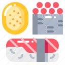 fastfood, food, japanese, sushi icon