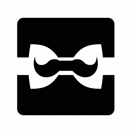 day, fathers, gift, mustache icon