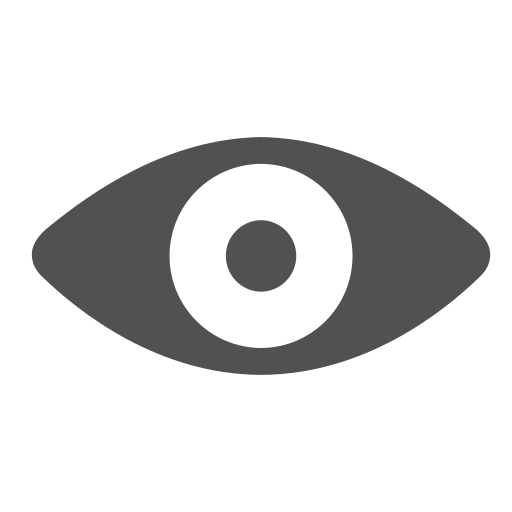 eye, see, view, visible, watch icon