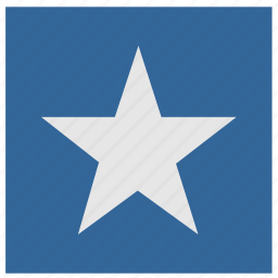 army, military, sign, square, star icon