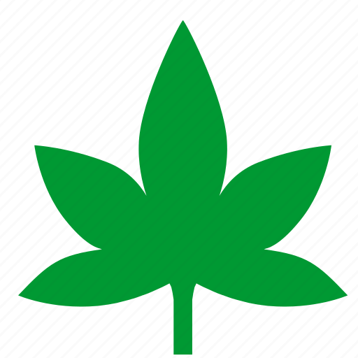 canabis, drugs, leaf, plant icon