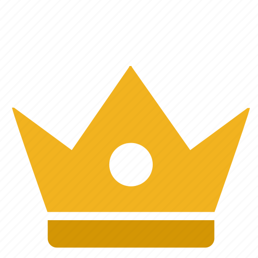 crown, gold, king, queen, royal icon
