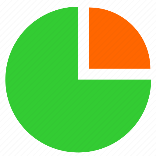 chart, economic, graph, sector, statistics icon