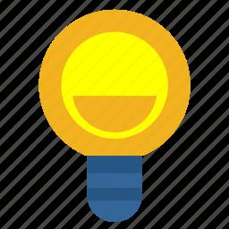 idea, lamp, light, shine icon