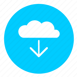 cloud, download, file, operation, transfer icon