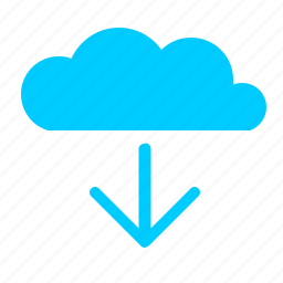 cloud, download, operation, transfer icon