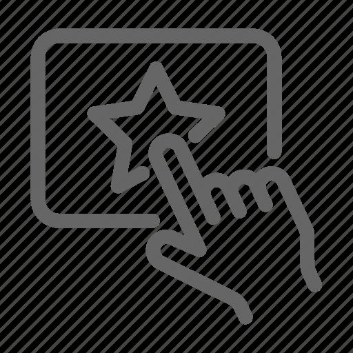 achievement, badge, favorite, feedback, rating, star icon