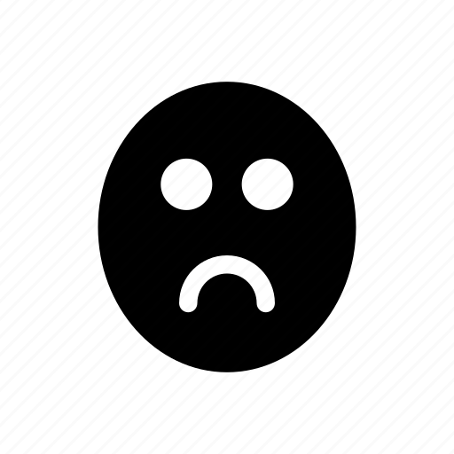 angry, bored, chatting, comment, dislike, feedback, opinion icon