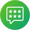 customer, feedback, rating, review icon