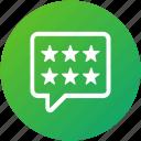 customer, feedback, rating, review