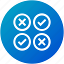 feedback, opinion, questionnaire, review, survey icon