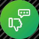 dislike, feedback, rating, review