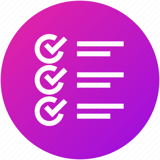 Checklist, feedback, questionnaire, review, test icon - Download on Iconfinder