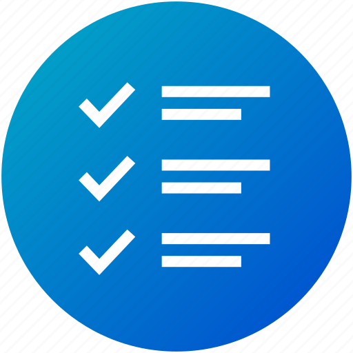 checklist, feedback, questionnaire, review, test icon