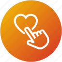 click, customer, feedback, rating, review icon