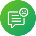 bad, feedback, message, rating, review
