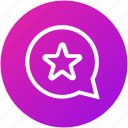 chat, feedback, message, rating, review