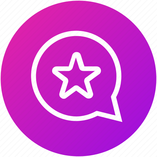 chat, feedback, message, rating, review icon