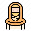 women, woman, girl, avatar, emoji, moslem, islam