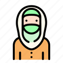 women, girl, female, avatar, emoji, moslem, islam