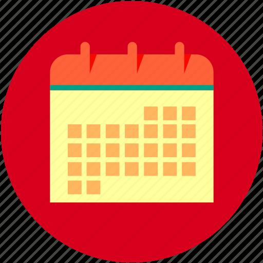 Calendar, day, month, week icon