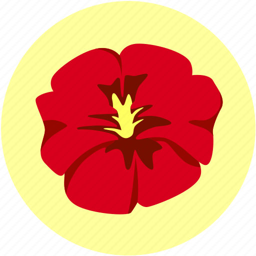 bloom, flora, flower, pansy icon