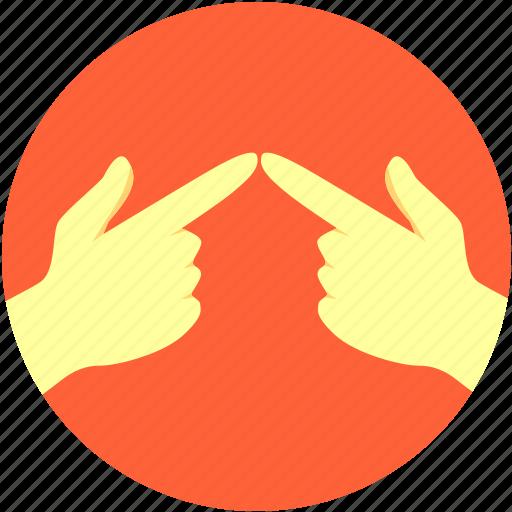 gesture, hand icon