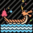 dragon, boat, carnival