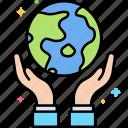 earth, day, globe