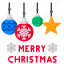 celebfratin, christmas, decoration, greeting, merry, star icon