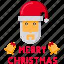 bell, christmas, claus, greeting, jingle, merry, santa